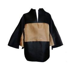 Unisex Chado Ralph Rucci Japanese  Kimono coat sz 12
