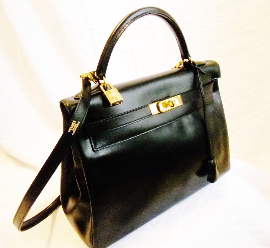 vintage hermes 32 kelly bag at 1stdibs. Black Bedroom Furniture Sets. Home Design Ideas