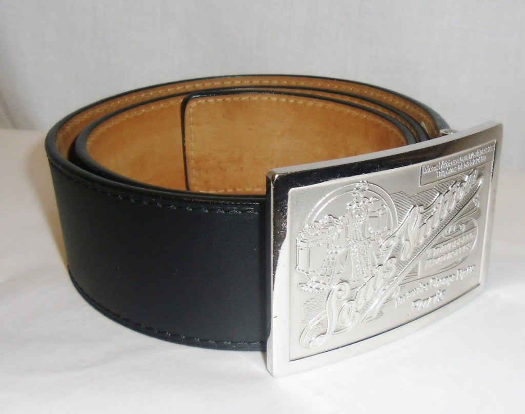 Louis Vuitton Large Buckle and Belt at 1stdibs
