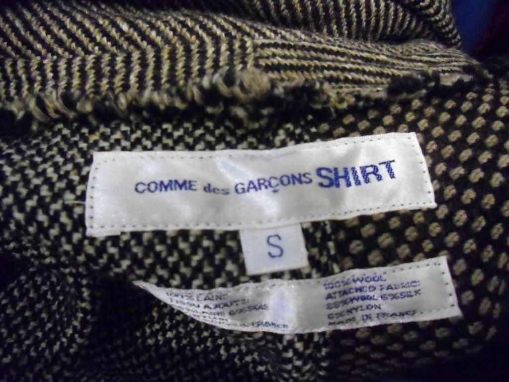 Comme des Garcons SHIRT  Patchwork  COAT image 6