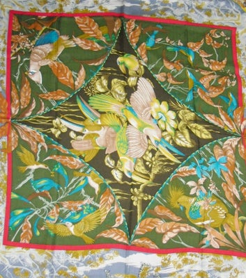 "Hermes  ""Tropiques"" Cashmere  Scarf  Laurence Toutsy Bourthoumie image 4"