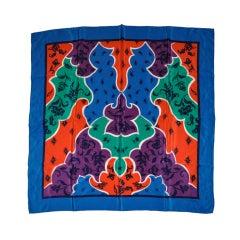 Christian Dior Bold Multicolor silk scarf