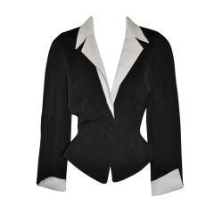 Thierry Mugler Black & gray jacket