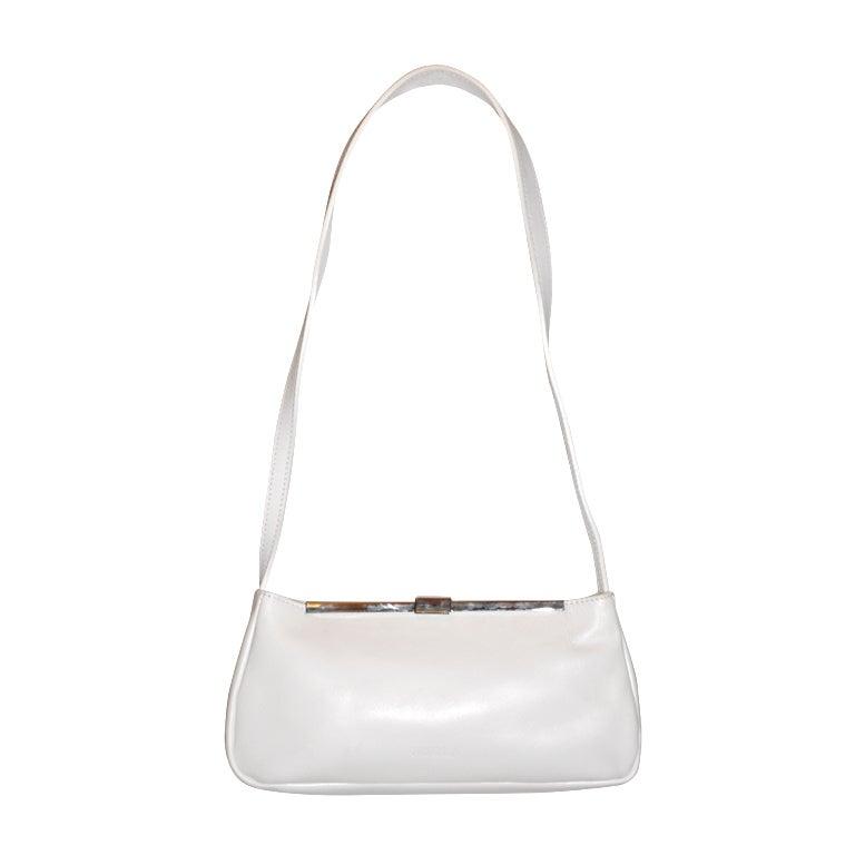 Small Silver Shoulder Bag 112