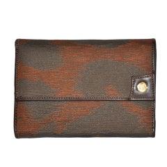 Vivienne Westwood silk & leather wallet