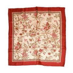 Echo floral print silk scarf