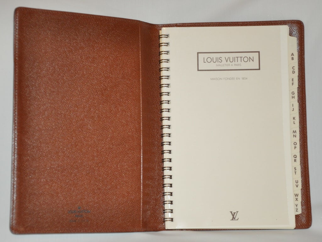 louis vuitton address book for sale at 1stdibs