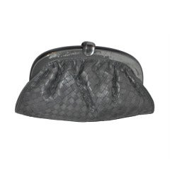 Bottega Veneta Signature Woven Leather Clutch