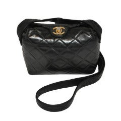 Chanel Black quilted Miniature Shoulder Bag