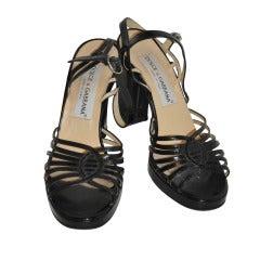 Dolce & Gabbana Black Chunky Sandal