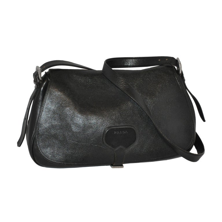 21a1e859359c Prada Textured Shoulder Bag For Sale at 1stdibs