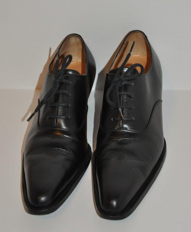 Yoshi Yamamoto Lace-Up Shoes 2