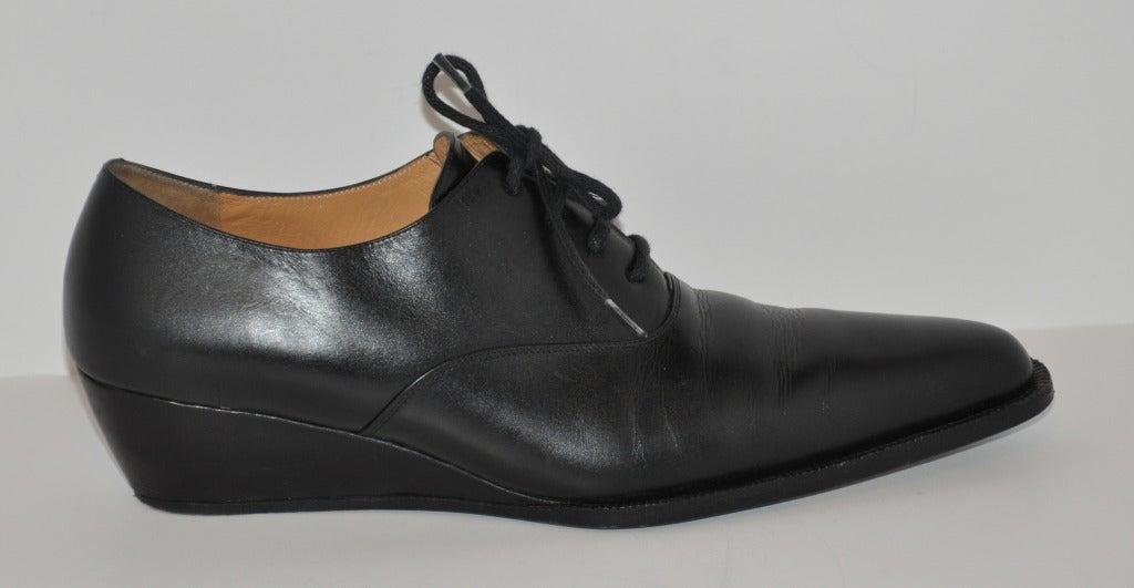 Yoshi Yamamoto Lace-Up Shoes 3