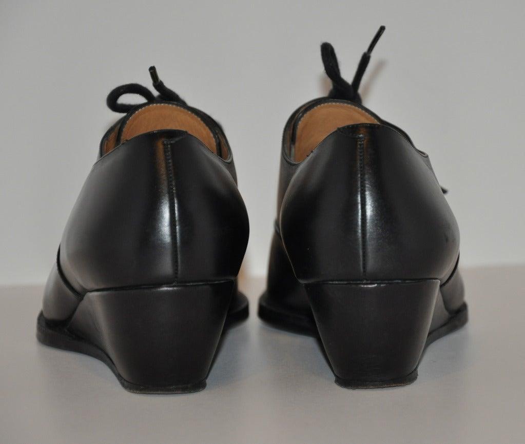 Yoshi Yamamoto Lace-Up Shoes 4