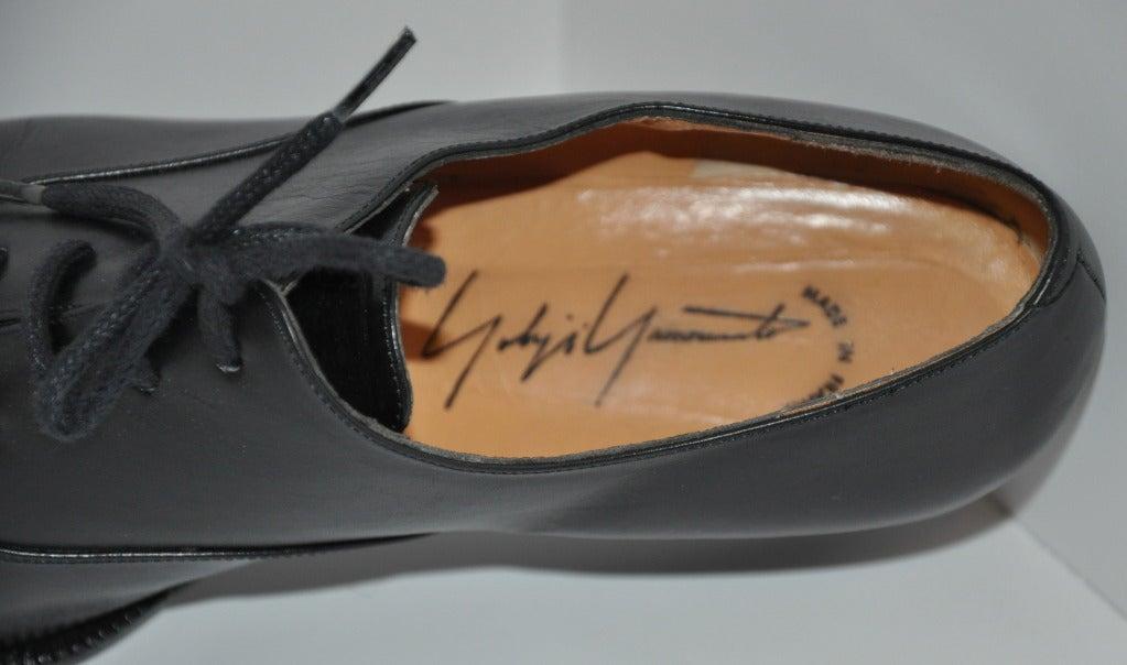 Yoshi Yamamoto Lace-Up Shoes 5