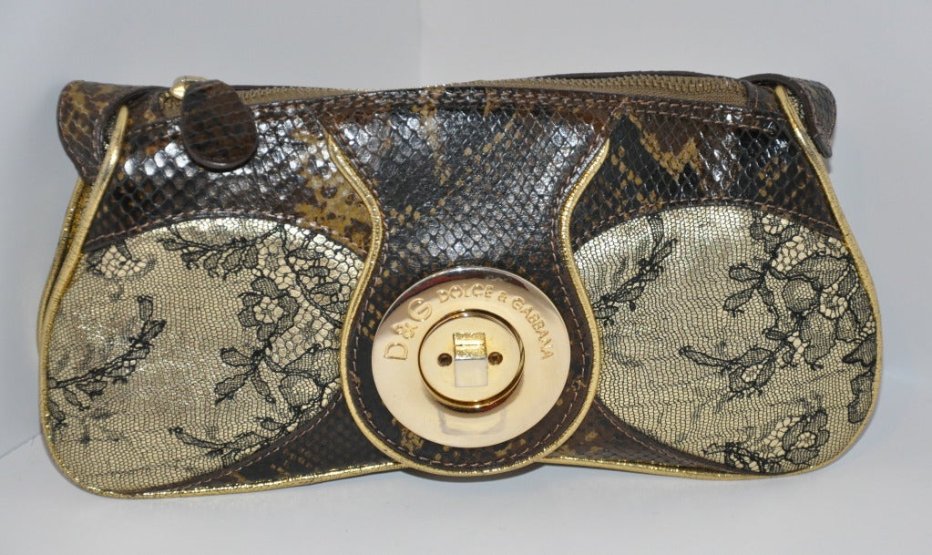 Women's Dolce & Gabbana Multi-Embossed leather bag For Sale