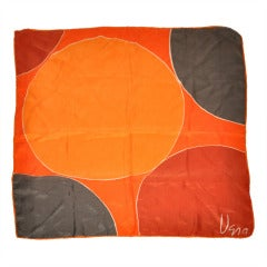 Vera Bold Abstract Print Silk Scarf