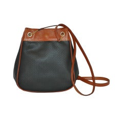 Bottega Veneta Black & Brown Hobo Shoulder Bag