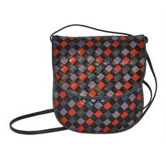 Bottega Veneta Multicolored Cross-Body Shoulder Bag