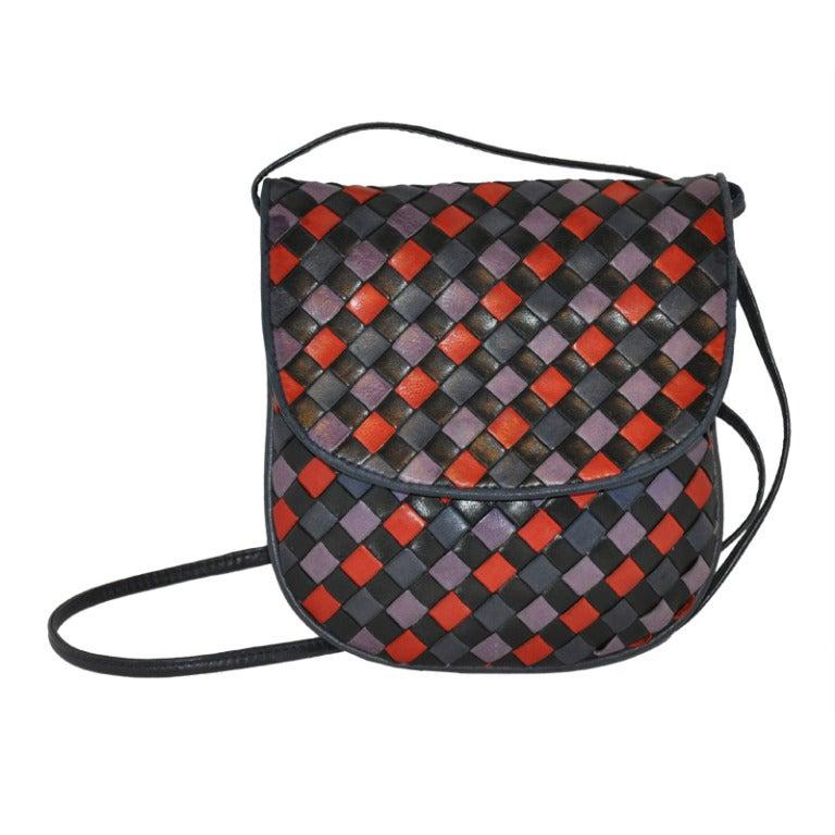 Bottega Veneta Multicolored Cross-Body Shoulder Bag
