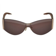 Alexander McQueen Hardware & Wood Sunglasses