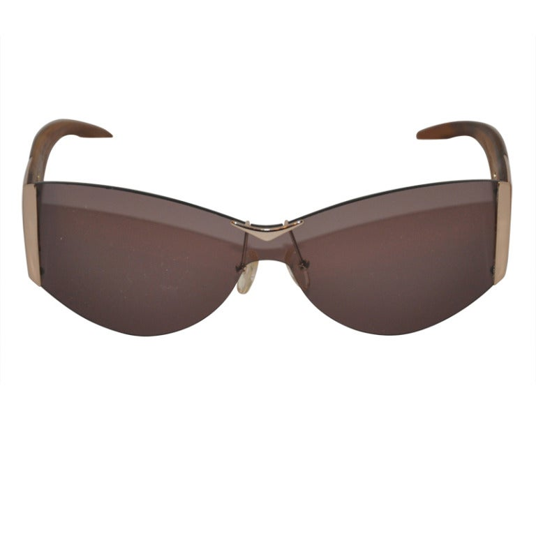 Alexander McQueen Hardware & Wood Sunglasses 1