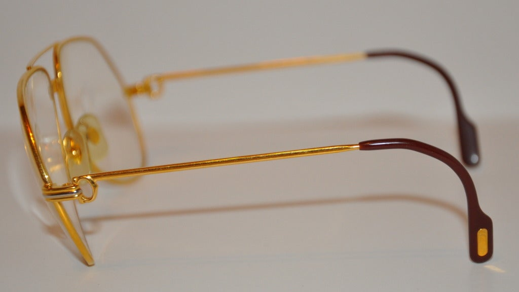 Glasses Frame Gold : Cartier Glasses Frames Gold images