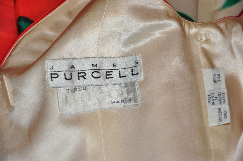 James Purcell for Tissu Bucoi cocktail dress 4