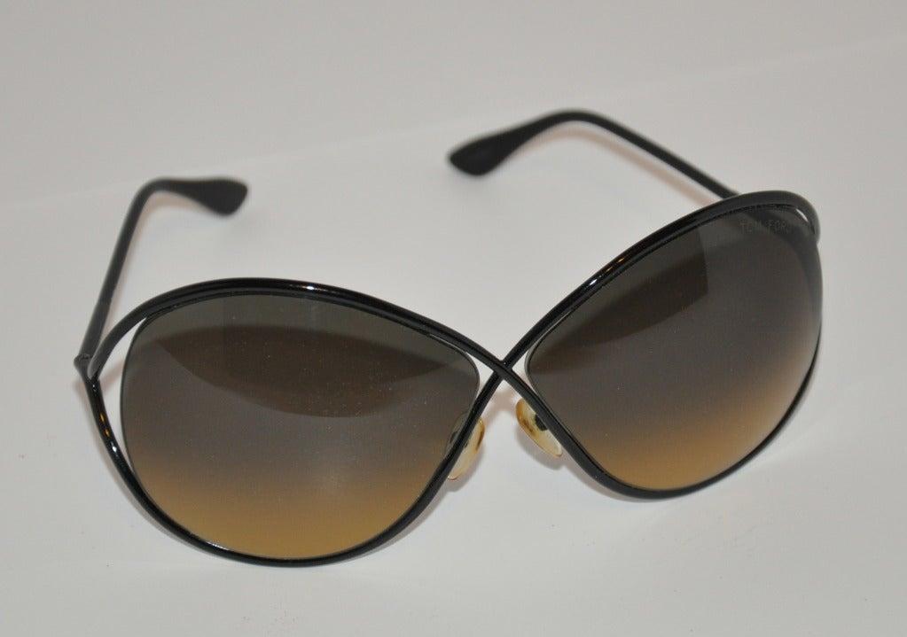"Tom Ford ""Limited Edition"" Simply Elegant Black Sunglasses 2"