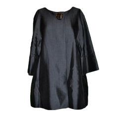 Wool/Silk Organza Cocktail Jacket