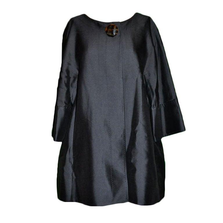 Wool/Silk Organza Cocktail Jacket For Sale