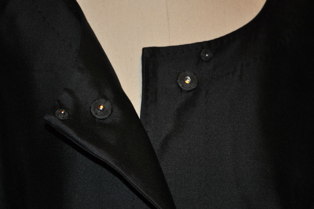 Wool/Silk Organza Cocktail Jacket For Sale 1