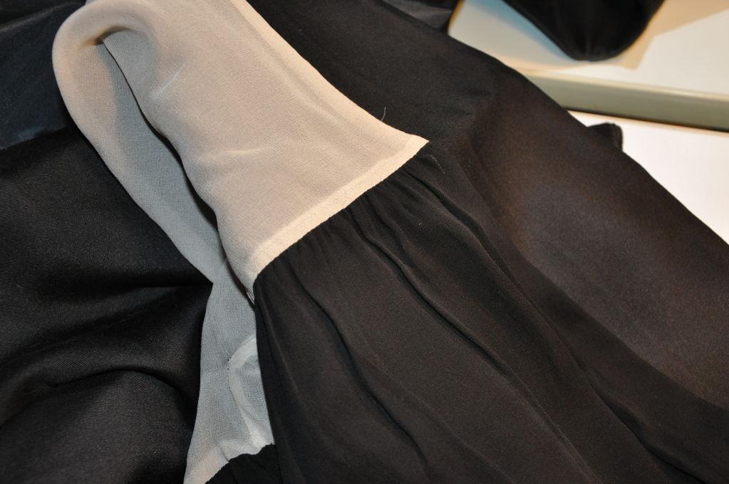 Wool/Silk Organza Cocktail Jacket For Sale 2
