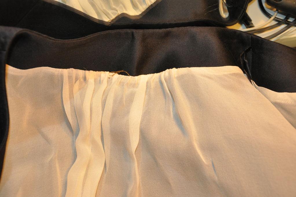 Wool/Silk Organza Cocktail Jacket For Sale 3