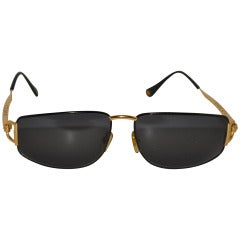 Gucci Gilded Gold Sunglasses