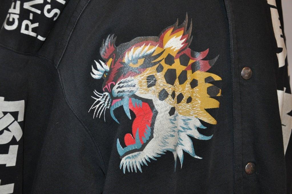 Rare Yamamoto Kansai Oversize Lion Applique Jacket 4