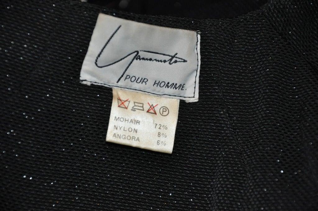 Women's Yoshji Yamamoto Padded-Front Zipper Jacket For Sale
