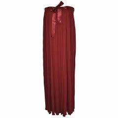 Julio Wide-Band Strapless Evening Dress/ Evening Skirt