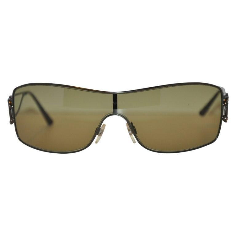 Chanel Wrap-Around Sunglasses at 1stdibs: https://www.1stdibs.com/fashion/accessories/sunglasses/chanel-wrap...