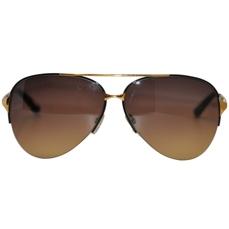 "Marc Jacobs ""Aviator"" Style Sunglasses"
