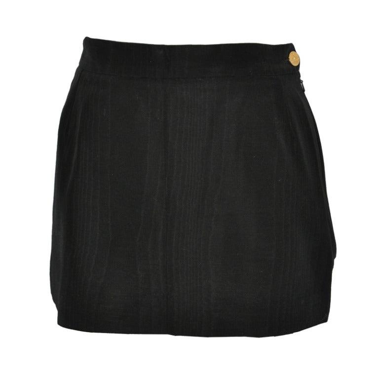 Vivienne Westwood Fully-Lined Black Mini Skirt
