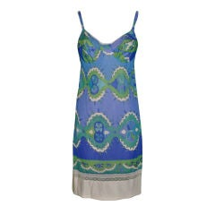 Emilio Pucci for Formfit Rogers dress-slip