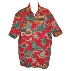 Hilo Hattie Hawaiian Print Men's Shirt