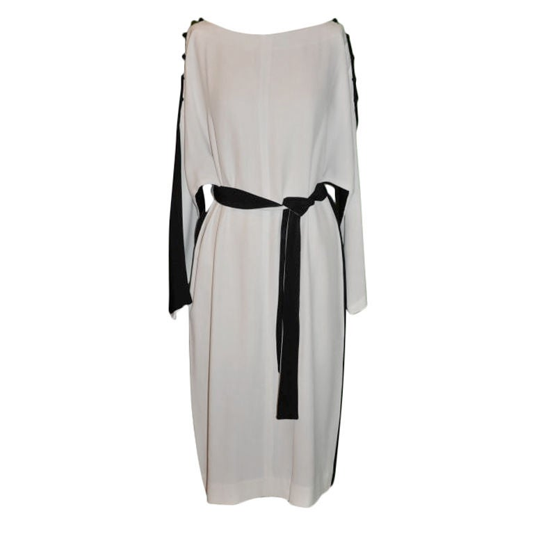 Donald Brooks Black & White tunic dress