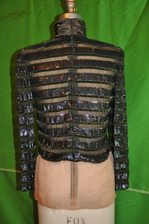Oscar de la Renta two-piece evening gown 5