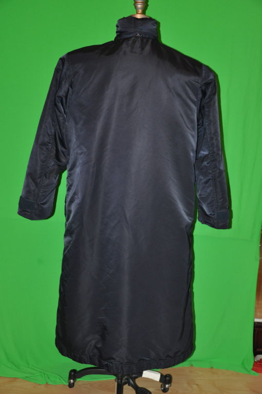 Black Issey Miyake Men trenchcoat. For Sale