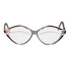 Balenciaga clear with tortoise shell eyeglasses