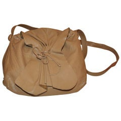 Carlos Falchi '80s large hobo shoulder bag
