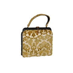Early Meyers Tapestry handbag