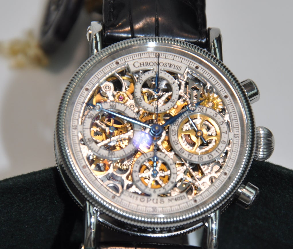 chronoswiss quot opus quot skeleton at 1stdibs